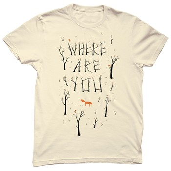 Monsieur Poulet - Where are you - T-shirt - beige - 1565177