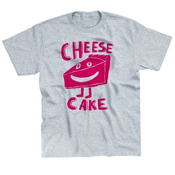 Monsieur Poulet - Cheesecake - T-shirt - gris chine - 1565184