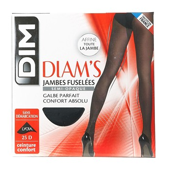 Diam's Ventre plat - Leggings - schwarz
