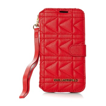 Etui Book Type Galaxy S5 - rouge