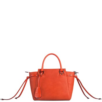 Elite - Sac à main en cuir - orange