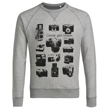 ArteCita - Appareils Photo Vintage - Sweat-shirt - gris clair - 1779522