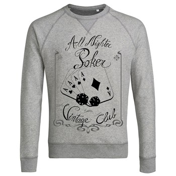 ArteCita - Poker Addict - Sweat-shirt - gris clair - 1779523