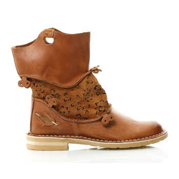 Bottines - marron clair
