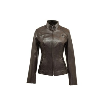 Lovely - Blouson en cuir - marron