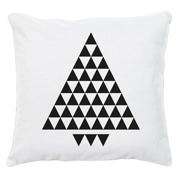 An Famille - Triangle - Coussin déhoussable - blanc