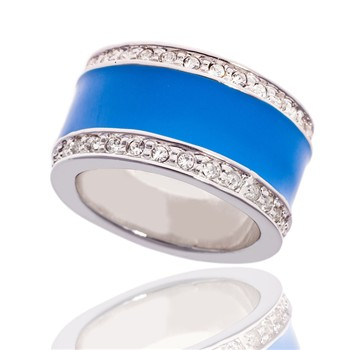 Bague à dames - La Majestic - Anello - blu