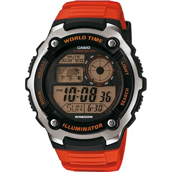 Casio - Casio Collection - Montre digitale - rouge