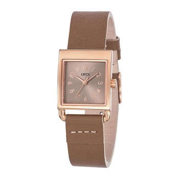 Rita - Montre en cuir - marron