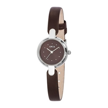 Safarina - Montre en cuir - marron