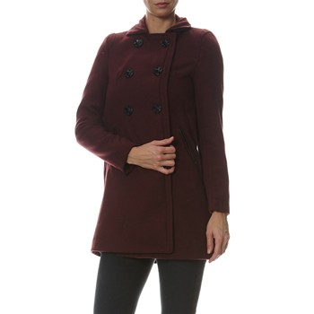 Mia - Manteau casual - bordeaux