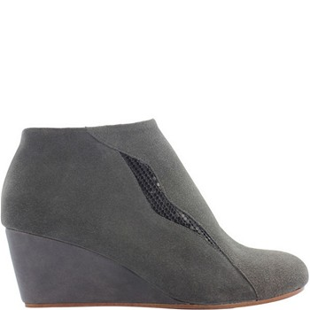 Farah - Bottines en cuir - gris