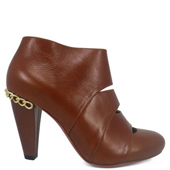 Fay - Bottines en cuir - marron