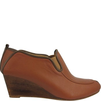Filipa - Bottines en cuir - marron