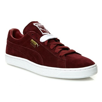 Suede classic - Turnschuhe,  Sneakers - bordeauxrot