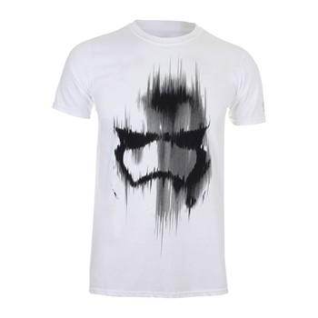 Trooper Mask - Camiseta de manga corta - blanco