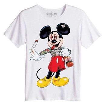 No Comment Paris - Mickey Dope - Top/tee-shirt - blanc - 1854174