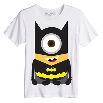No Comment Paris - Batman Minion - Top/tee-shirt - blanc - 1854175