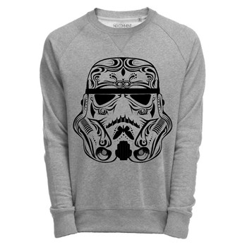 trooper tatoo - Sweats - gris chine