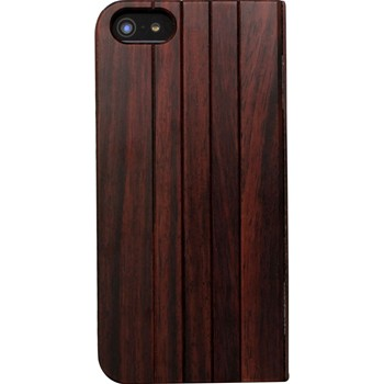 The Kase - iPhone 5/5S - Coque en bois de rose - marron - 1864003