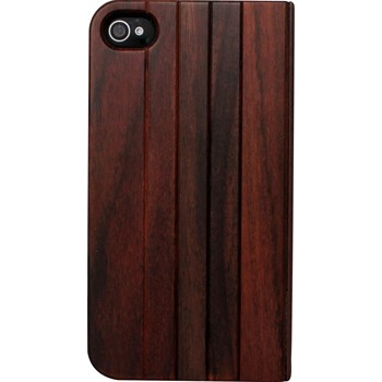 The Kase - iPhone 4/4S - Coque en bois de rose - marron - 1864004