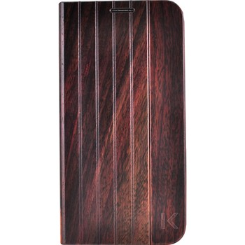 The Kase - Galaxy S6 - Coque en bois de rose - marron - 1864014