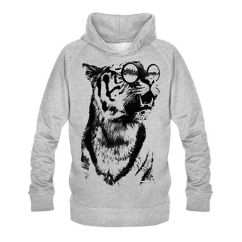 intellectual panther - Sweats - gris clair