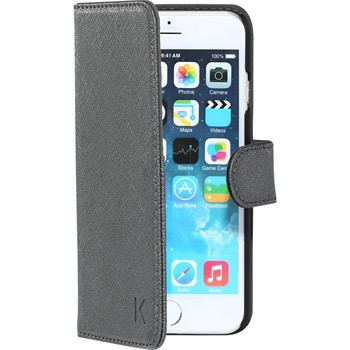 The Kase - iPhone 6 - Coque clapet - argent - 1864174