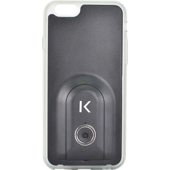The Kase - iPhone 6 - Coque selfie bluetooth - noir - 1864290