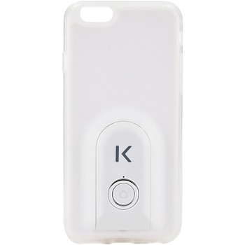 The Kase - iPhone 6 - Coque selfie bluetooth - blanc - 1864292
