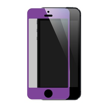 The Kase - iPhone 5/5S/5C - Protection écran - violet - 1864375