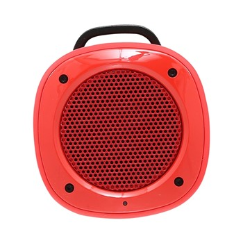 The Kase - Airbeat-10 - Haut-parleur portable Bluetooth - rouge - 1864413