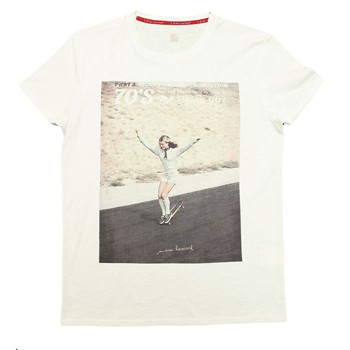 Manu Hancock - Flying Girl - T-shirt - blanc - 1863589