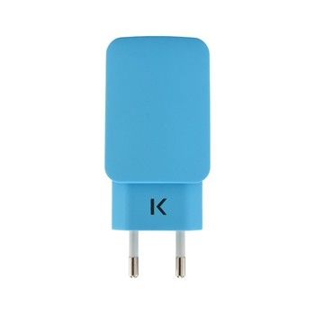 The Kase - iPhone 6 Plus/iPhone 6/iPad/smartphones/tablettes Android - Chargeur universel - bleu - 1863885