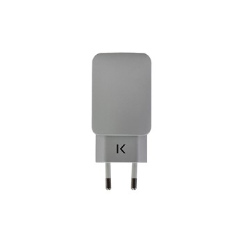 The Kase - iPhone 6 Plus/iPhone 6/iPad/smartphones/tablettes Android - Chargeur universel - argent - 1863891