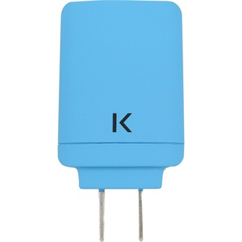 The Kase - iPhone 6 Plus/iPhone 6/iPad/smartphones/tablettes Android - Chargeur universel - bleu - 1863892