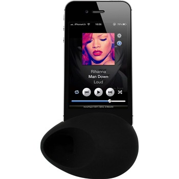 The Kase - iPhone 6 Plus - Amplificateur de son - noir - 1863934