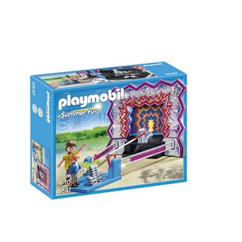 Playmobil - Summer fun - Stand chamboule tout - multicolore - 1862184