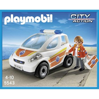 Playmobil - City action - Urgentiste avec voiture - multicolore - 1861594