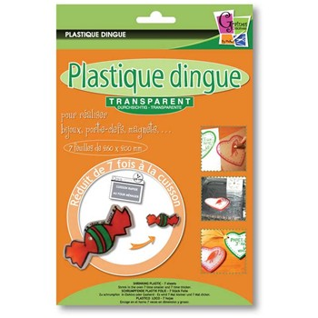 Pw International - Plastique dingue - Kit création - multicolore - 1861780