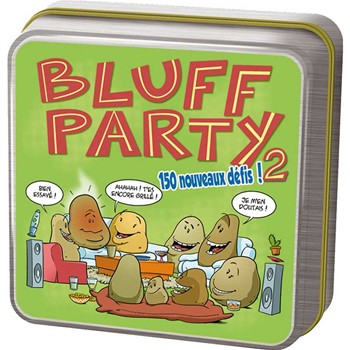 Asmodee Editions - Bluff party - multicolore - 1861053