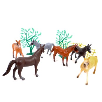 Wonderkids - Mes chevaux - Figurines chevaux - multicolore - 1859091