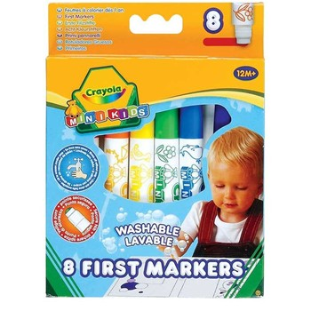 Minikids - Lot de 8 feutres - multicolore