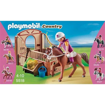 Playmobil - Country - Cheval Shagya et cavalière - multicolore - 1858937