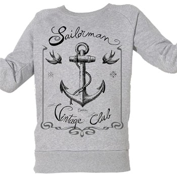 Club Voile Vintage - Top/tee-shirt - gris chine