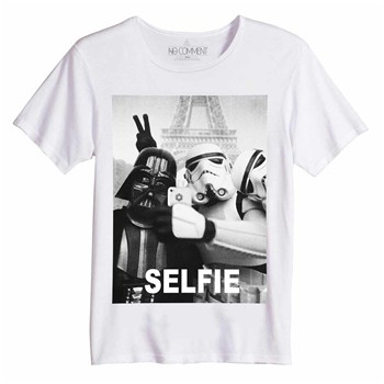 Selfie - Top/tee-shirt - blanc
