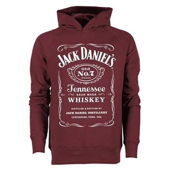Jack Daniels - Sweats - bordeaux
