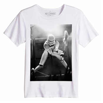 No Comment Paris - Destroy trooper - Top/tee-shirt - blanc - 1873127
