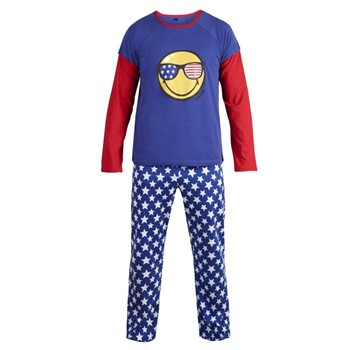 Pomm'Poire - Star Night - Pyjama - bleu