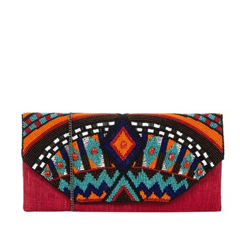 Canyon - Pochette en soie - orange